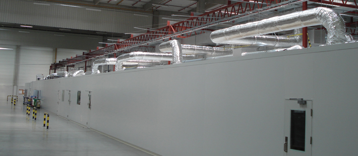 Free Standing Modular Cleanroom Facility